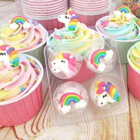 Soggetti Unicorno Arcobaleno zucchero