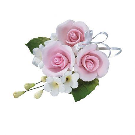 Bouqet di Rose in zucchero