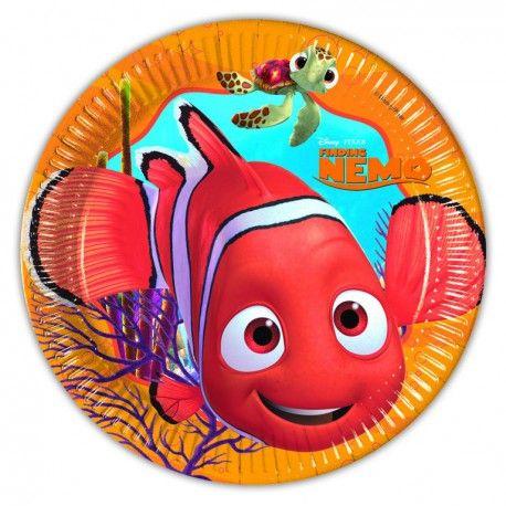 Piattini Nemo 17 cm (8 pz)