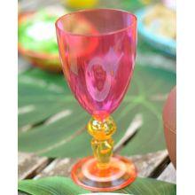 Bicchiere plastica Calice Rosa
