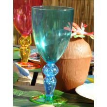 Bicchiere plastica Festa Coco Blu