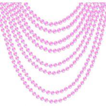 Collane di perle Fucsia 8 pz