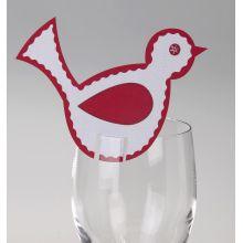 Natale Segnaposti per bicchieri
