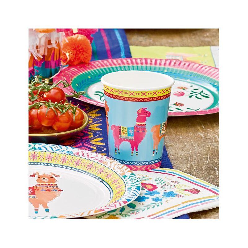 Bicchieri di carta Frida Kahlo (12 pz) - Festa messicana ...
