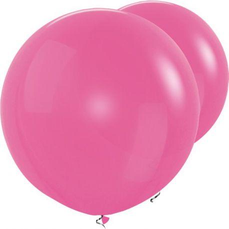 Palloncini Giganti Rosa Tondi -Big Size