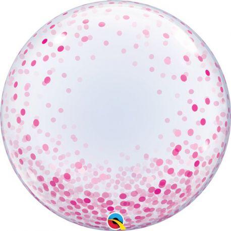 Palloncini Grandi conCoriandoli Stampati Bubbles