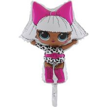 Palloncino LOL Surprise DIVA Minishape 28 cm