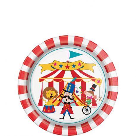 Festa Circo Piatti di Carta
