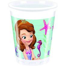 80 Bicchieri Sofia La Principessa  Sirenetta Super sconto