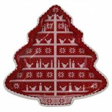Piatto di carta Albero di Natale