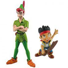 Statuine Bullyland Peter Pan e Jake