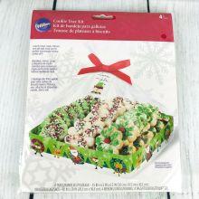 Kit 4 vassoi-buste--tag e nastri Elfo portadolci di Natale