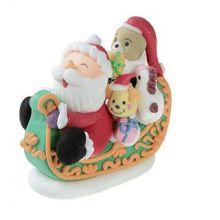 Babbo Natale e slitta in zucchero-NON EDIBILE
