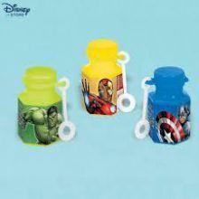Bolle di sapone Avengers 12 pz