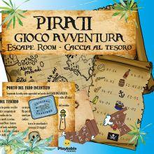 Pirati Gioco Avventura - Escape Room - Caccia al Tesoro