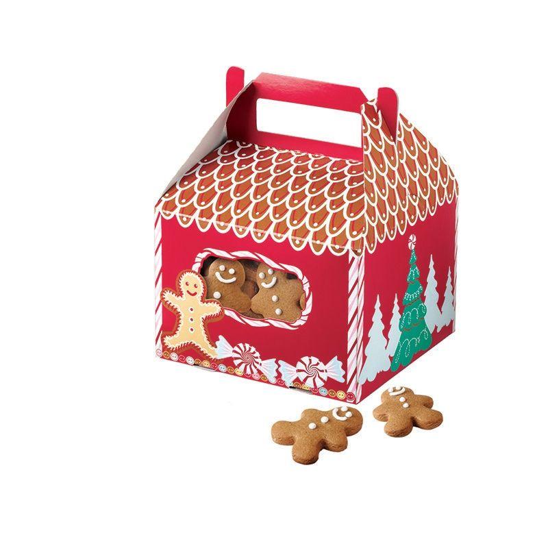 3 Scatole Casetta Ginger Set con Manico