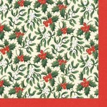 Natale Tovaglioli di carta Agrifoglio 20 pz