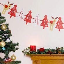 Festone Natale Rudolf Party 3.5 m