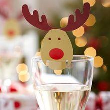 Party Natale Rudolf  Card Segnaposto10 pz