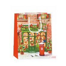 Sacchetto Natalizio Christmas Shop