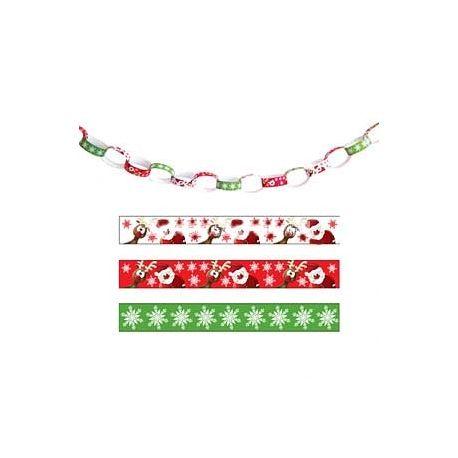 Kit per Creare Festoni di Natale 100 pz