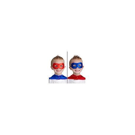 Mascherina Super Eroe Blu e Rossa