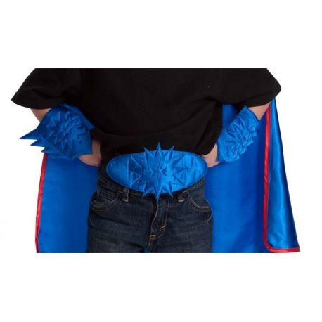 Accessori Super Eroe Cintura e Polsini