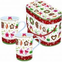 Tazze Mug in Confezione  Natalizia