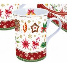Tazza Mug  Decoro Party di Inverno