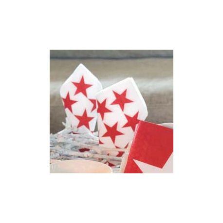Tovaglioli Multi Star Red