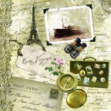 Tovaglioli di Carta Bon Voyage