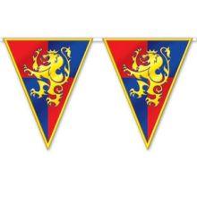 Decorazione festone con stemma cavalieri