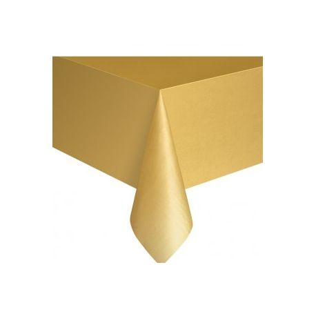 Tovaglia Plastica Oro