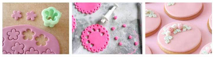 biscotti decorati con pasta di zucchero - wimipops - Decorazioni Con Biscotti