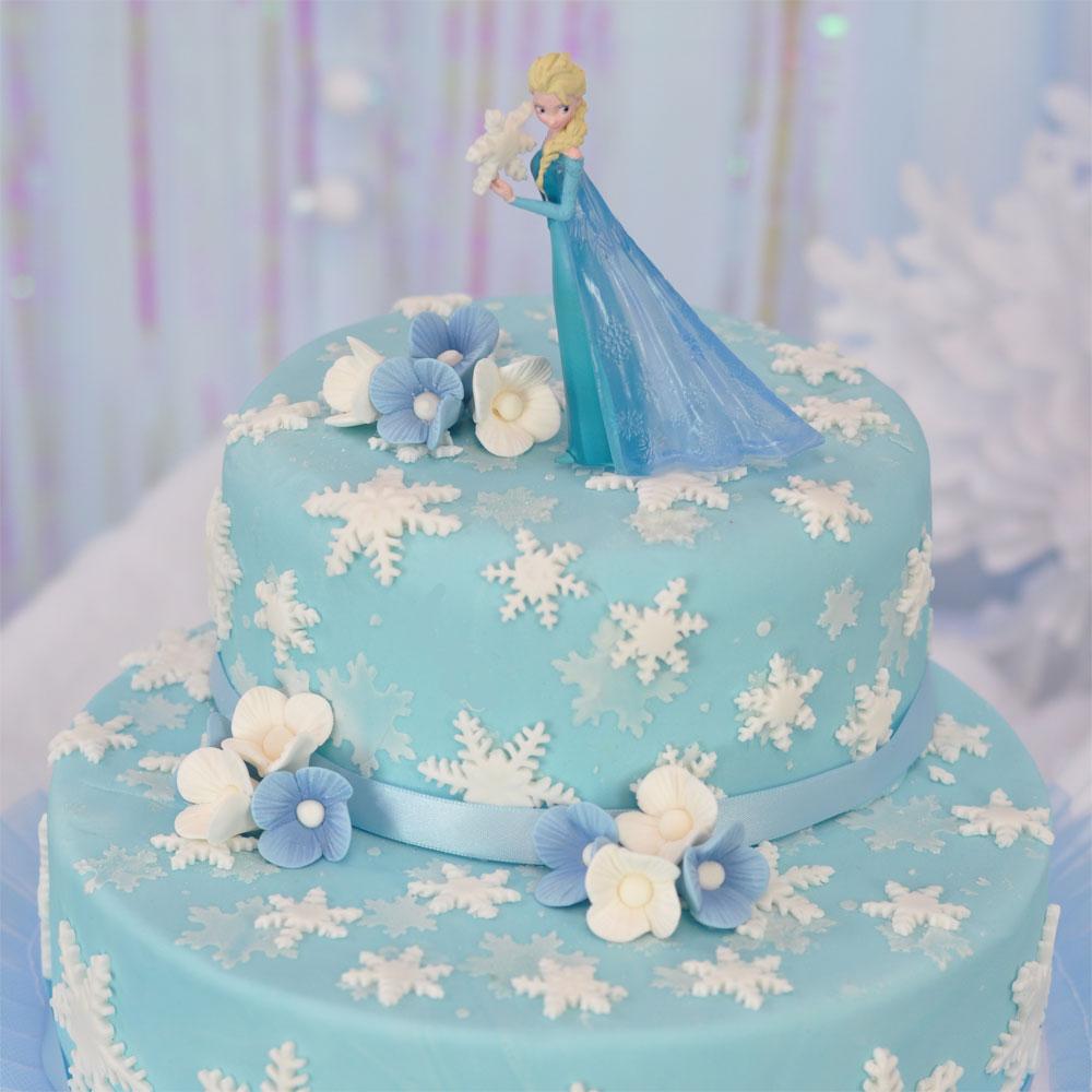 Torta Frozen Elsa \u2013 Neve d\u0027incanto