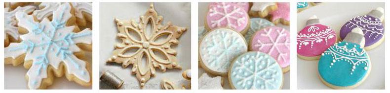 Decorazione Biscotti Con Ghiaccia Reale Ricamo Wimipops