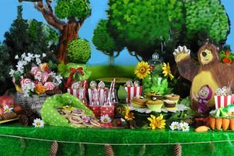 masha & orso sweet table