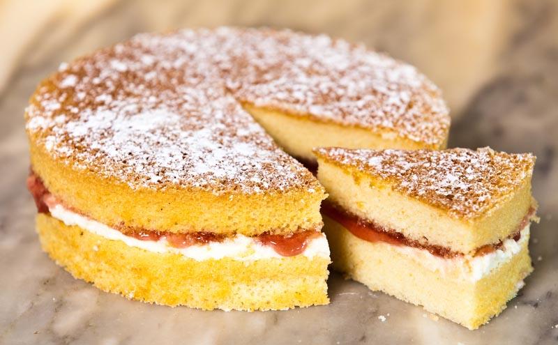 sponge cake torta