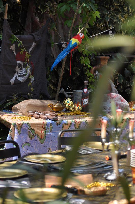 Festa Pirati giardino
