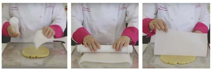 Casetta di pan di zenzero step 1
