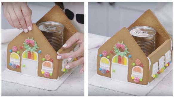 Casetta Di Natale Con Pasta Frolla : Casetta di pan di zenzero gingerbread wimipops