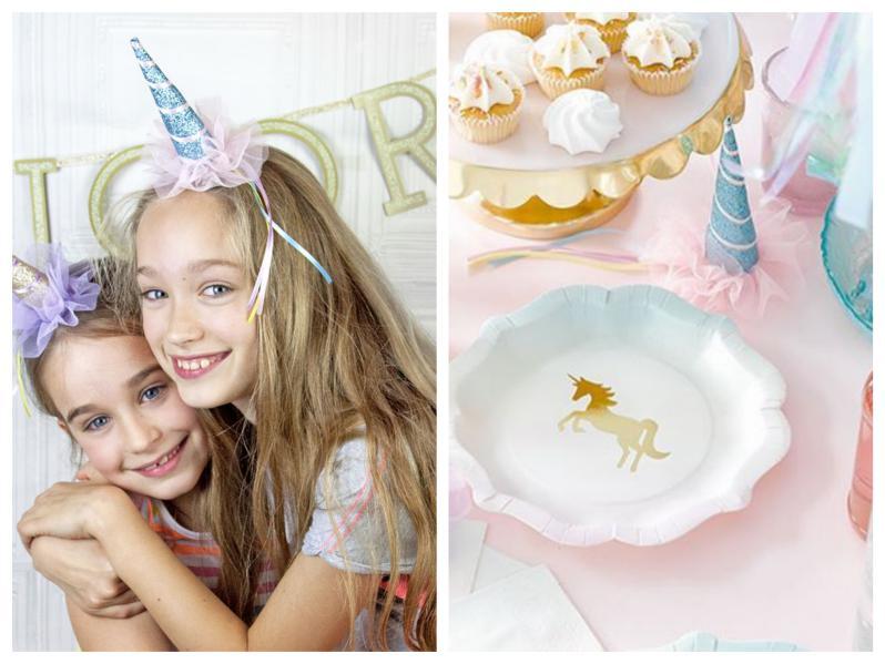 festa unicorno accesorio capelli