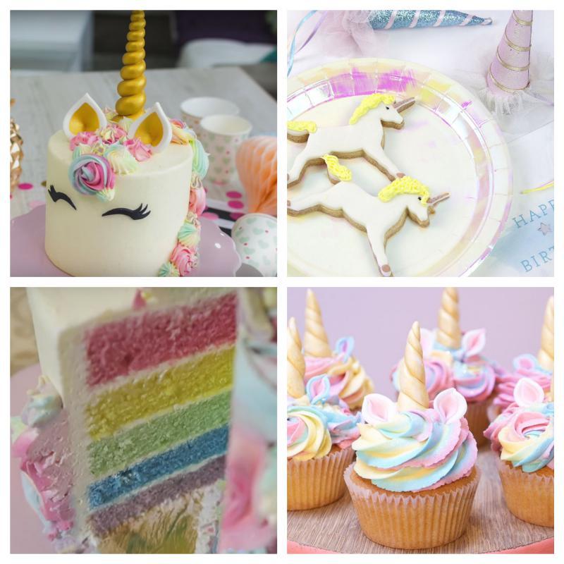 Torta e dolci Unicorno