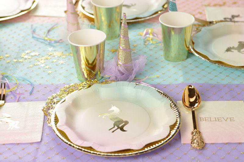 piatti unicorno- festa a tema unicorno