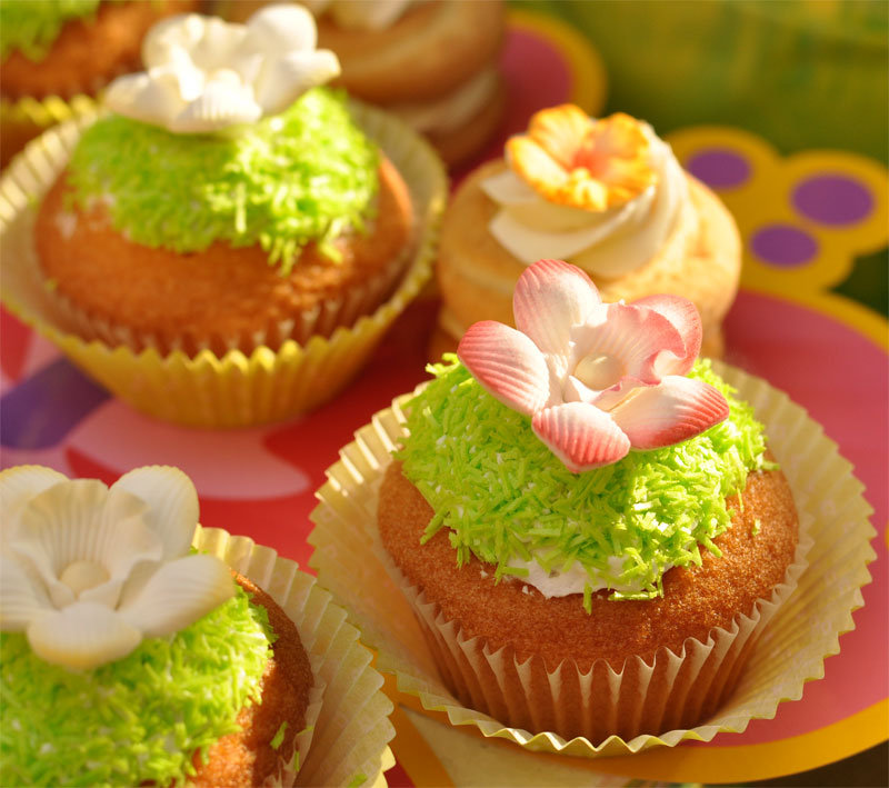 Cupcakes orchidee