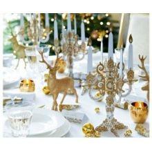 Festa Natale Oro e Chic