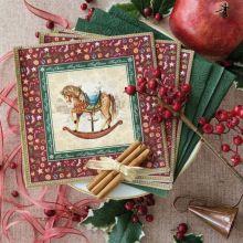 Tovaglioli Carta per la Tavola di Natale