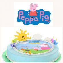 Kit per Torta Peppa Pig