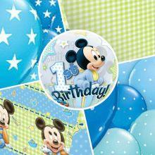 Festa Primo Compleanno Bambino Baby Topolino Wimipops