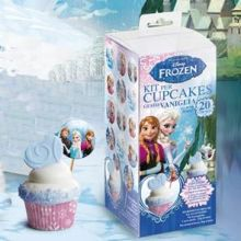 Kit per  cupcake Frozen con Pirottini e Pick